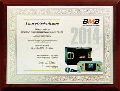 Letter of Authorization - BMB Japan